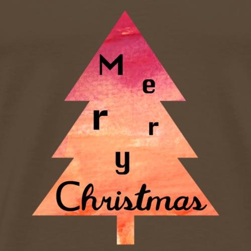 Merry Christmas - Frohe Weihnachten - Männer Premium T-Shirt