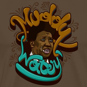Muddy Waters - Herre premium T-shirt