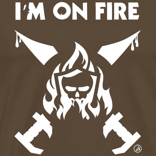 I'm on fire - T-shirt Premium Homme