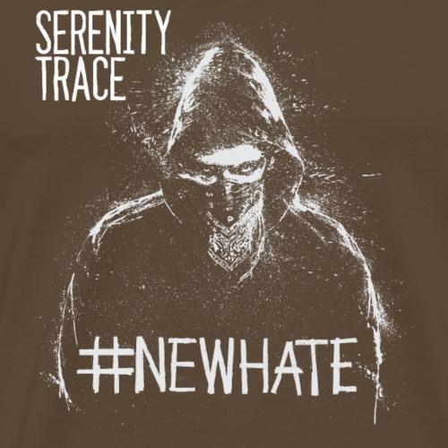 #NewHate Male - Premium T-skjorte for menn