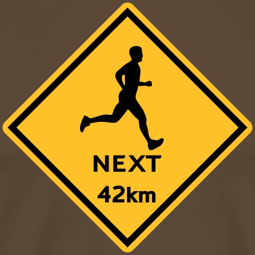 Running men 42km - Männer Premium T-Shirt