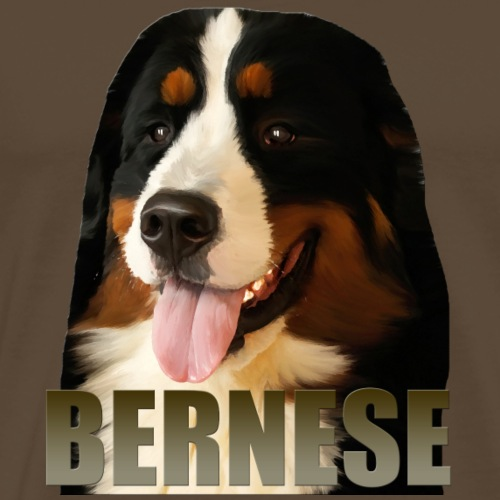 Bernese - Premium T-skjorte for menn