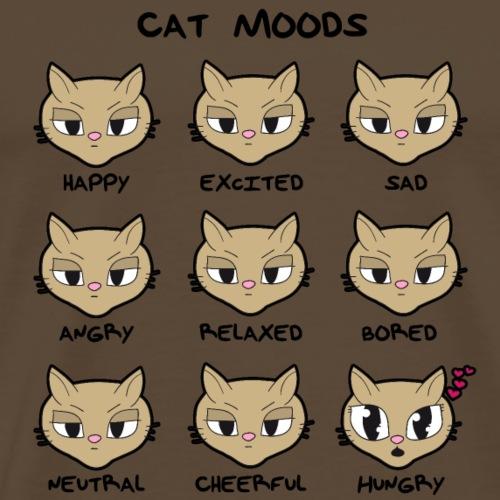 Cat Moods - Männer Premium T-Shirt