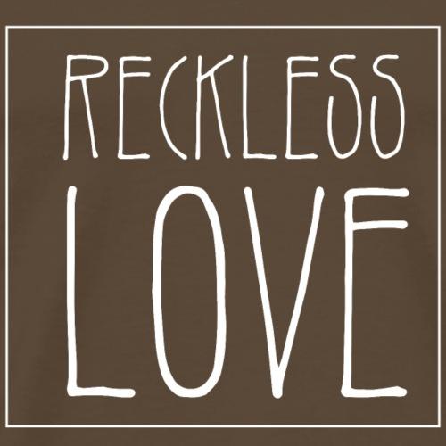 Reckless Love christliches christen Geschenk - Männer Premium T-Shirt