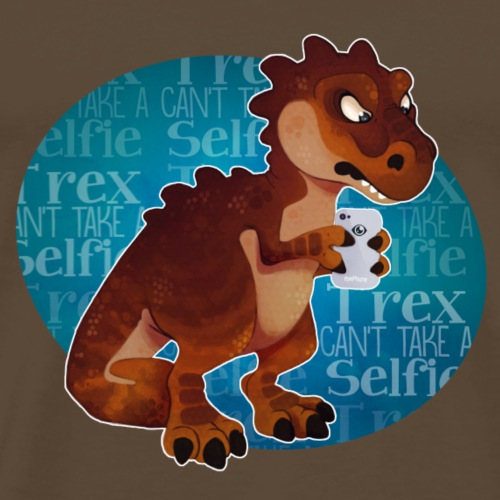T-rex - T-shirt Premium Homme