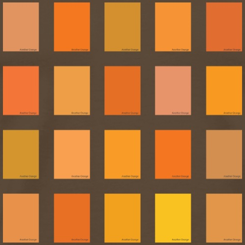 Another Orange Color Picker - Men's Premium T-Shirt