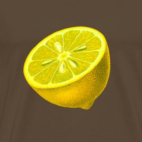 Fresh Lemon - Männer Premium T-Shirt