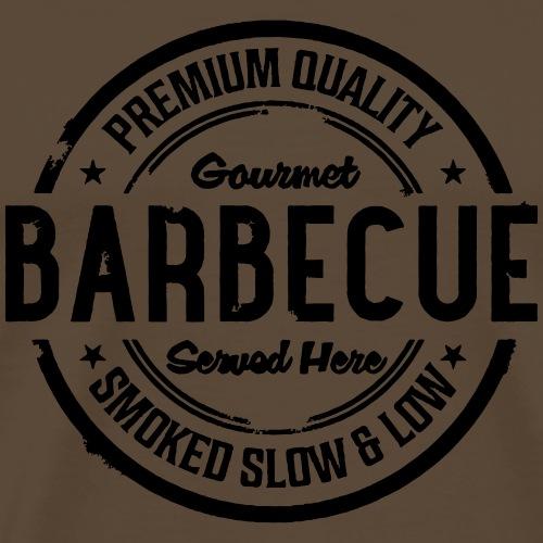 Gourmet Barbecue - Männer Premium T-Shirt