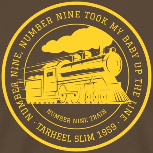 Number Nine Train - Men's Premium T-Shirt