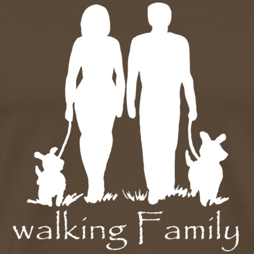 WALKING FAMILY - Männer Premium T-Shirt
