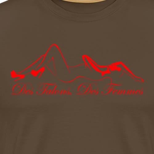 DTDF red 04 - T-shirt Premium Homme