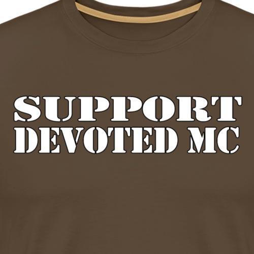 T-Shirt SUPPORT DEVOTEDMC SHOP 1 - Premium T-skjorte for menn