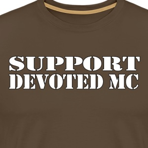 T-Shirt SUPPORT DEVOTEDMC SHOP 1 - Premium T-skjorte for menn