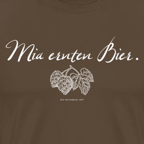 Mia ernten Bier. - Männer Premium T-Shirt