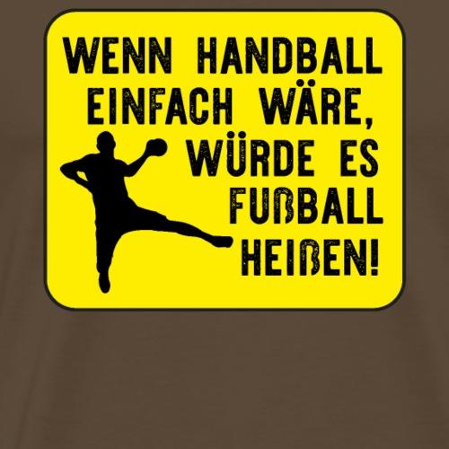 Handball Handballspieler - Männer Premium T-Shirt