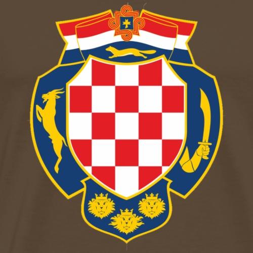 Stari Hrvatski Grb - Tomic Design - Männer Premium T-Shirt