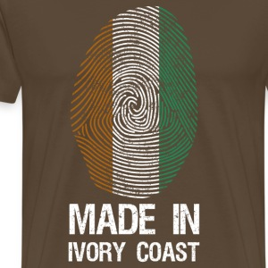 MADE IN IVORY COAST - Männer Premium T-Shirt