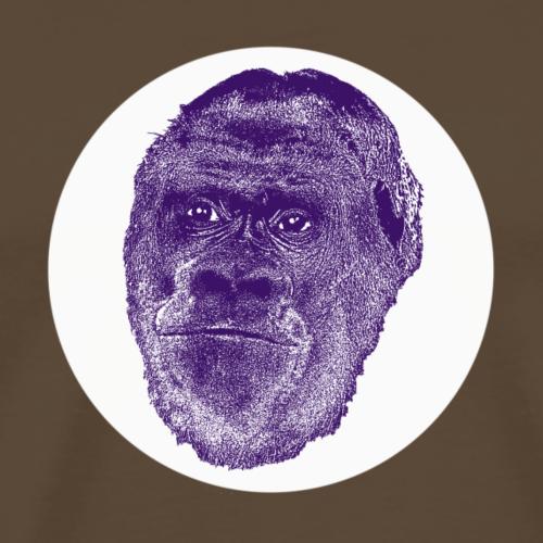 Manni-Lila Berggorilla - Männer Premium T-Shirt