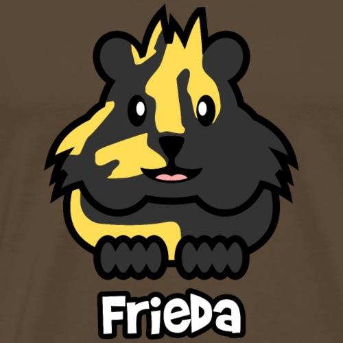 Meerschweinchen Frieda - Männer Premium T-Shirt