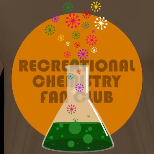 Recreational Chemistry Fan Club (naranja) - Camiseta premium hombre