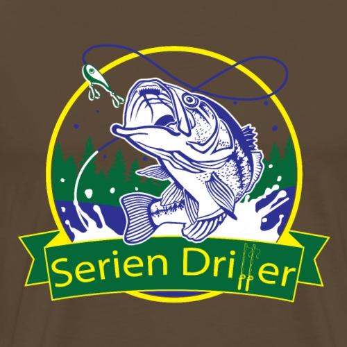 Serien Driller. Fische fangen in Serie. - Männer Premium T-Shirt