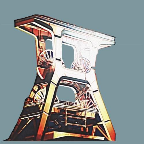 Zeche Zollverein - Männer Premium T-Shirt