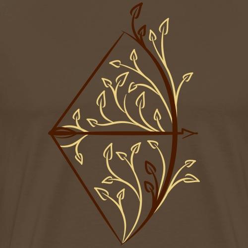 Primitive Bow (Bogenschiessen by BOWTIQUE) - Männer Premium T-Shirt