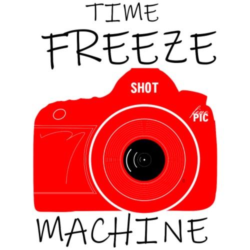Time Freeze Machine - red - Männer Premium T-Shirt