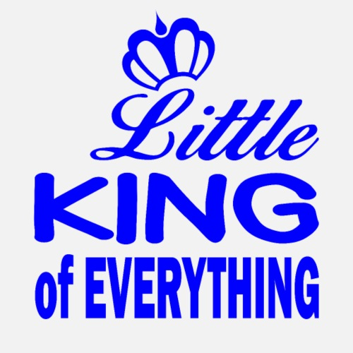Little KING of EVERYTHING für echte Männer - Männer Premium T-Shirt