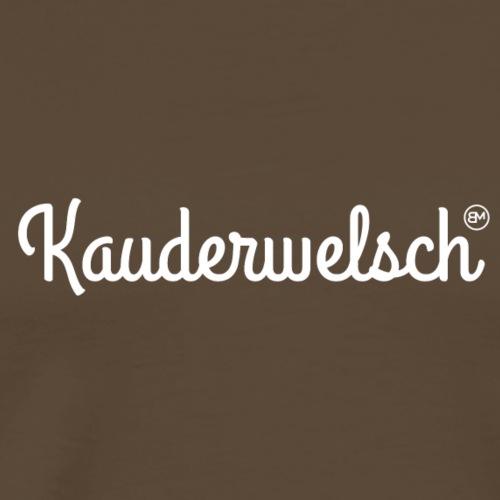 Kauderwelsch - Männer Premium T-Shirt