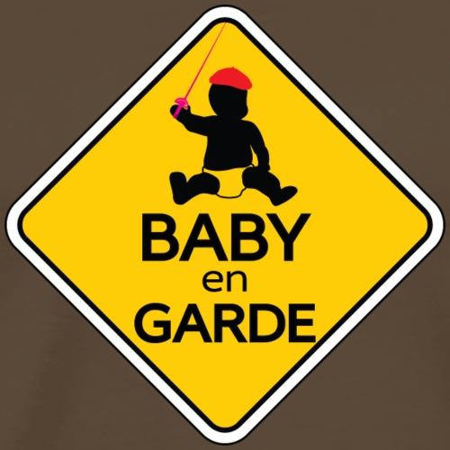 Baby en Garde - Men's Premium T-Shirt