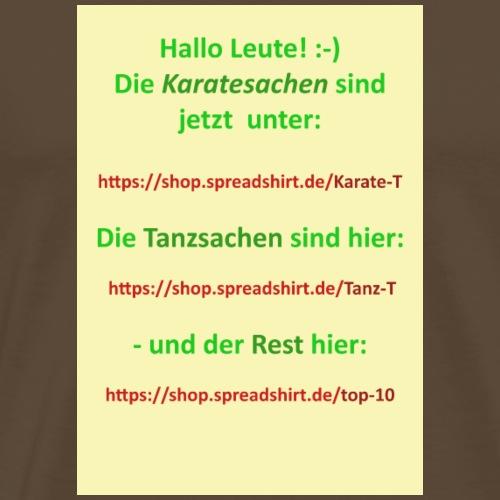 Banner for MS shop - Männer Premium T-Shirt