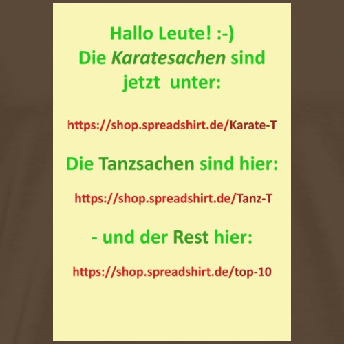 Banner for MS shop - Männer Premium T-Shirt
