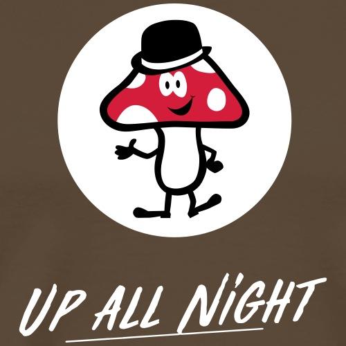 Lucky Mushroom on white - Männer Premium T-Shirt