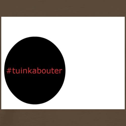 #tuinkabouter - Mannen Premium T-shirt