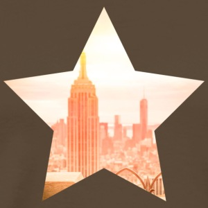 top-of-the-rock-new-york - Premium T-skjorte for menn