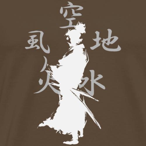 SAMURAI BALNCO - Camiseta premium hombre