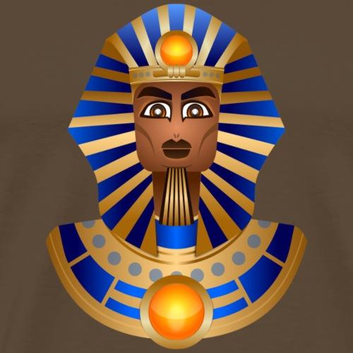 Büste von Tutanchamun - Männer Premium T-Shirt