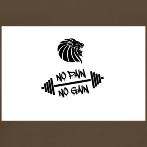 No Pain No Gain - Männer Premium T-Shirt
