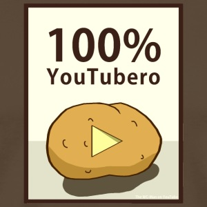 100-_youtubero - Premium T-skjorte for menn