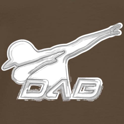Alternate DAB brushed on white - Männer Premium T-Shirt