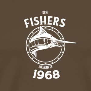 Present for fishers born in 1968 - Männer Premium T-Shirt