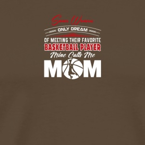 basketball mom - Männer Premium T-Shirt