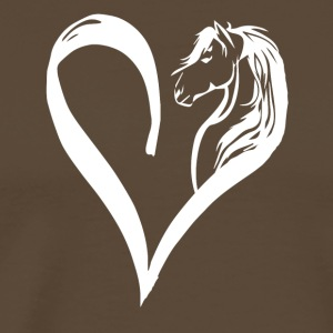 Horse in the heart - Men's Premium T-Shirt