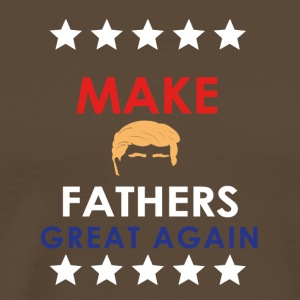 Maak Fathers Great Again - Mannen Premium T-shirt