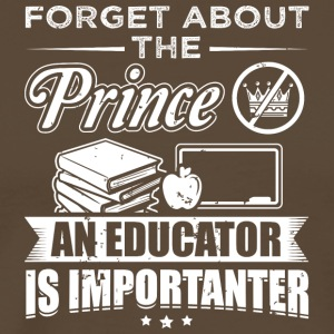 educator FORGET PRINCE education - Männer Premium T-Shirt