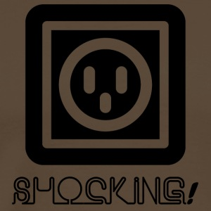 Électriciens: Shocking! - T-shirt Premium Homme