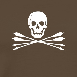 Pirates of bågskytte - Premium-T-shirt herr