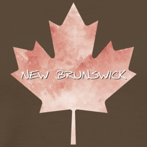 New Brunswick Maple Leaf - Premium-T-shirt herr