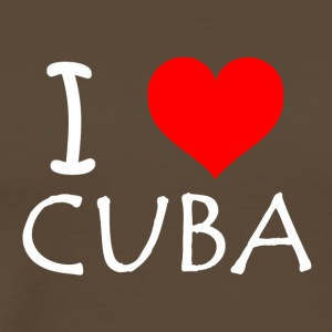 I Love Cuba - Men's Premium T-Shirt